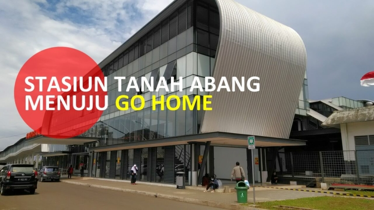 akses go home residence serpong
