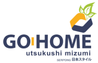 logo go home residence serpong