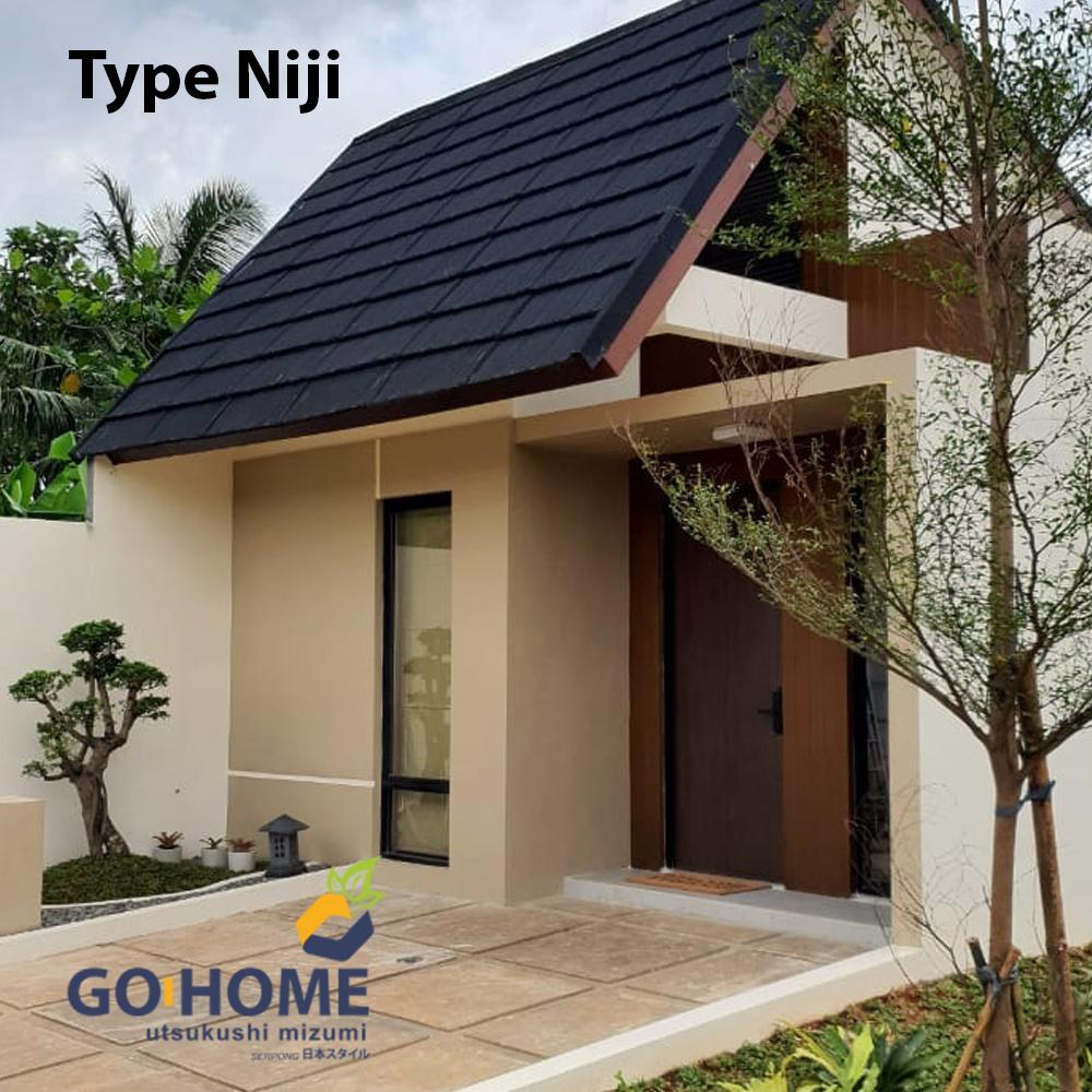 go home residence tipe niji 3